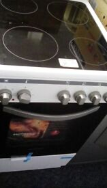 NEW Montpellier electric cooker with ceramic hob #30150 £245