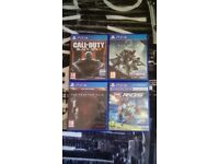 Sony PS4 Games £5 each
