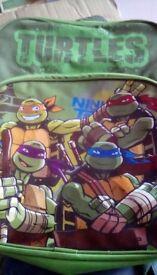 Turtles school bag