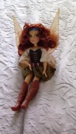 Disney store Zarina the Pirate fairy doll