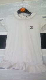 Moncler dress okay condition age 2 reduced price