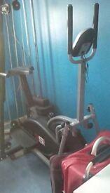 Cross trainer /exercise bike