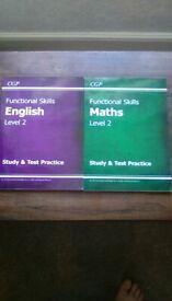 Functional skills Maths and English books