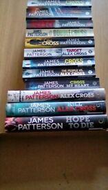 James Patterson Books x 12