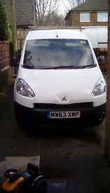 Cheap 63 partner van £3000 no vat drives like new clean van all way round