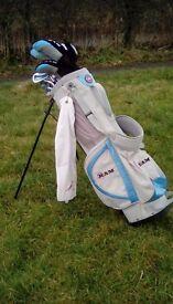 Ram golf club set and Callaway Big Bertha golf club set