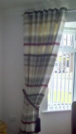 SLX Curtains horizon natural 90x90