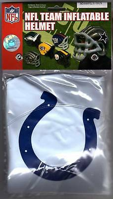 Indianapolis Colts Inflatable/Blow Up Helmet -  Costume - Helmet Inflatable