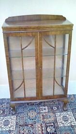 1930's display cabinet