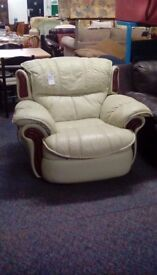 Electrical Reclining Armchair #30387 £69