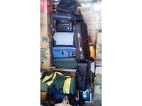 Several suitcases