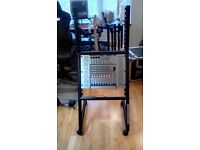 Mixer Behringer & free 20-Space Trolley Rack.