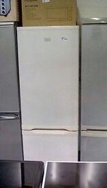 Zanussi silver fridge freezer #26072 £130