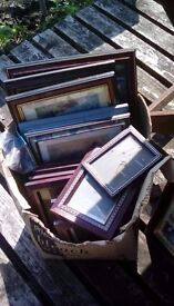 For sale...picture frames