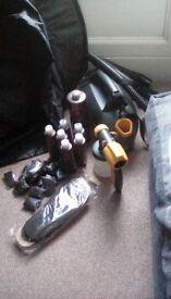 Spraytan machine & accessories