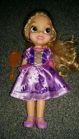 Rapunzel toddler doll
