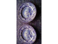 Souvenir Collectable Plates Washington crossing the Delaware