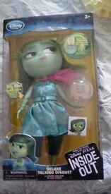 Disney store disgust talking doll