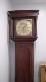 Grandfather clock by William Parkinson of Lancaster