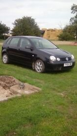 Vw Polo no mot or tax sold as spares or repair 170.000 miles diesel engine sold as seen. £150 ono