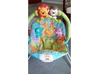 Baby bouncing seat