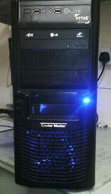 REFURBISHED AMD X 2 250 3GHZ DUAL CORE PC COMPUTER 500GB HD 6GB RAM 9500GT 1GB WINDOWS 7 64 BIT