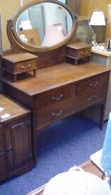 Dressing Table With Mirror #29442 £99