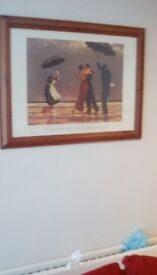 Pictures - Jack Vettriano framed prints 36 x 23 inches - price is for each