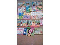 BUNDLE OF CHILDRENS' BOOKS, PEPPA PIG, FROZEN, DORA THE EXPLORER AND MORE