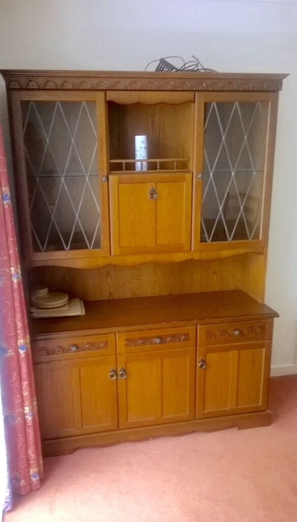 Dining Room Dresser Wall Unit Drinks Cabinet