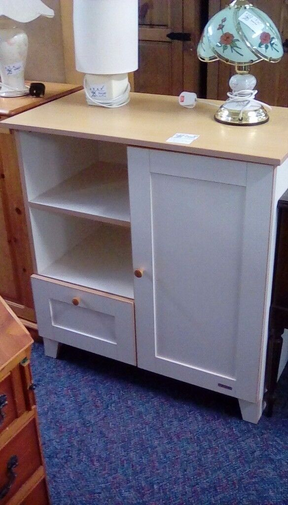 White Display Cabinet #29996 £65