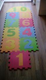 Hopscotch mats