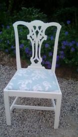 A lovely painted chair