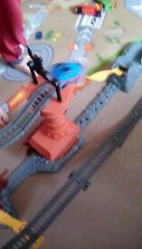 Thomas train set ship wreck and trains