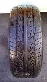 225/45/18 tyre very good tread fitted bristol area