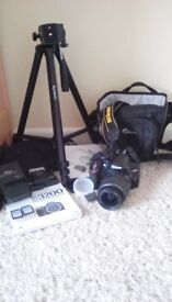 Excellent Condition Nikon D3200 Digital Camera with accessories