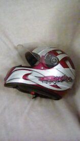 Motcycle crash helmet by shark