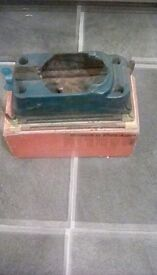 Vintage sanding attachment for drill