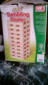 Giant tumble tower - suitable for outdoors