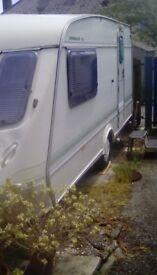 Elddis Hurricane XL 2 Berth Caravan