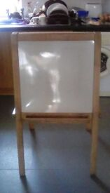 Chalk and white board stand