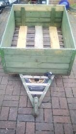 Small box trailer for sale, solid, lights work, good tyres