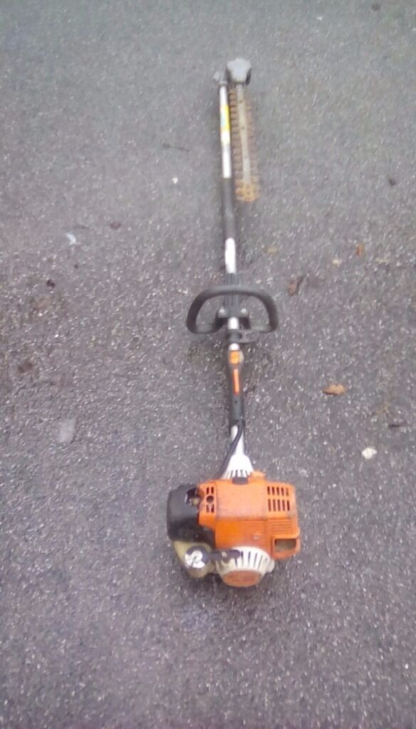 Stihl long reach hedge trimmer hl100 spare or repair blades