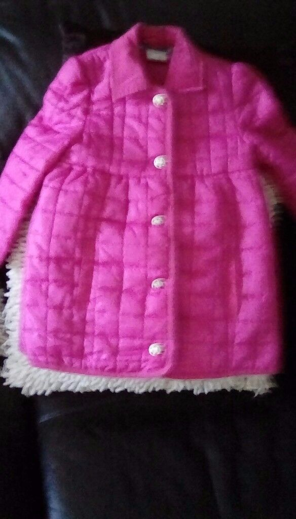 Fab pink quilted designer coay as new