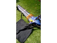 Garden vac leaf blower