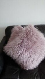 Baby Pink Cushions