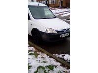 Vauxhall combo crew van,1.7td