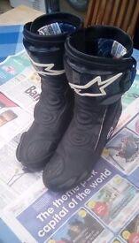 Alpinestars SVX Motercycle Boots