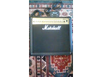Marshall MG50 DFX with footswitch