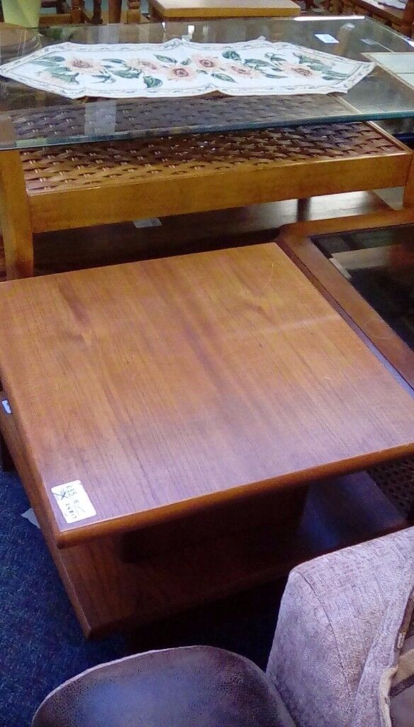 Square Coffee Table #24816 £35